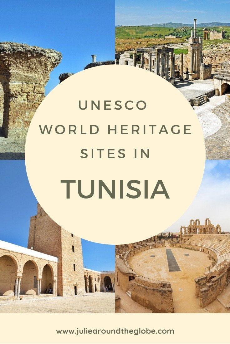 Discover 8 amazing UNESCO Wolrd Heritage Sites in Tunisa. #travel #africa #unesco