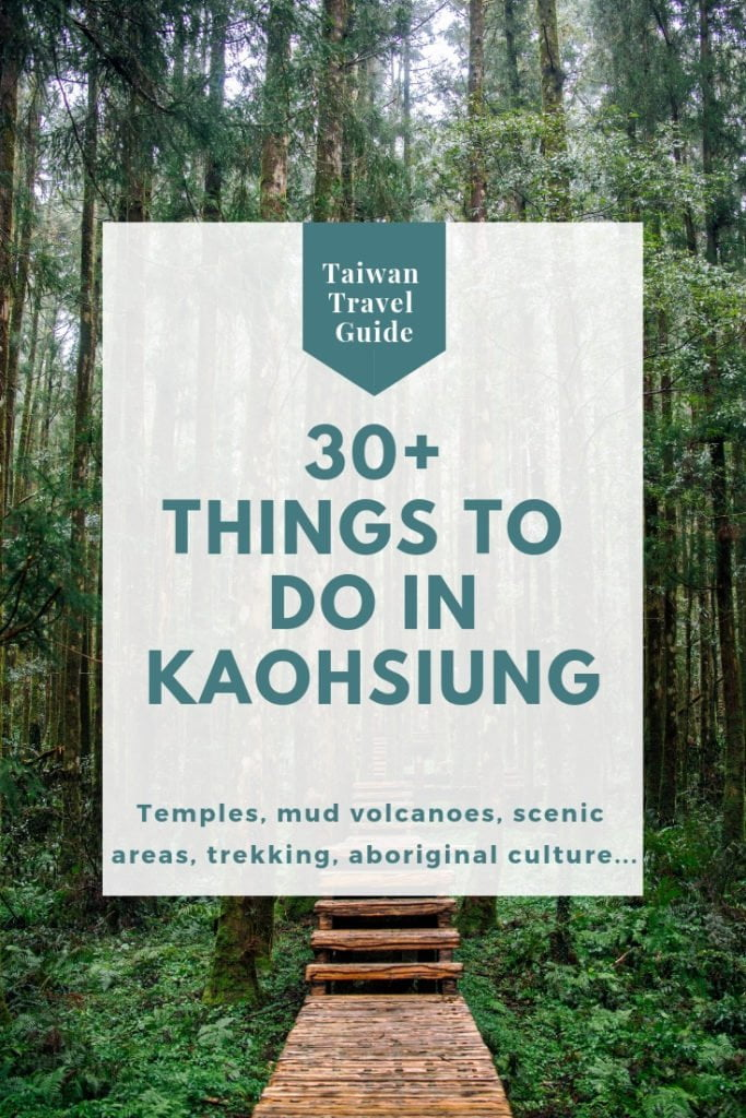 Day trips from Kaohsiung (Taiwan)