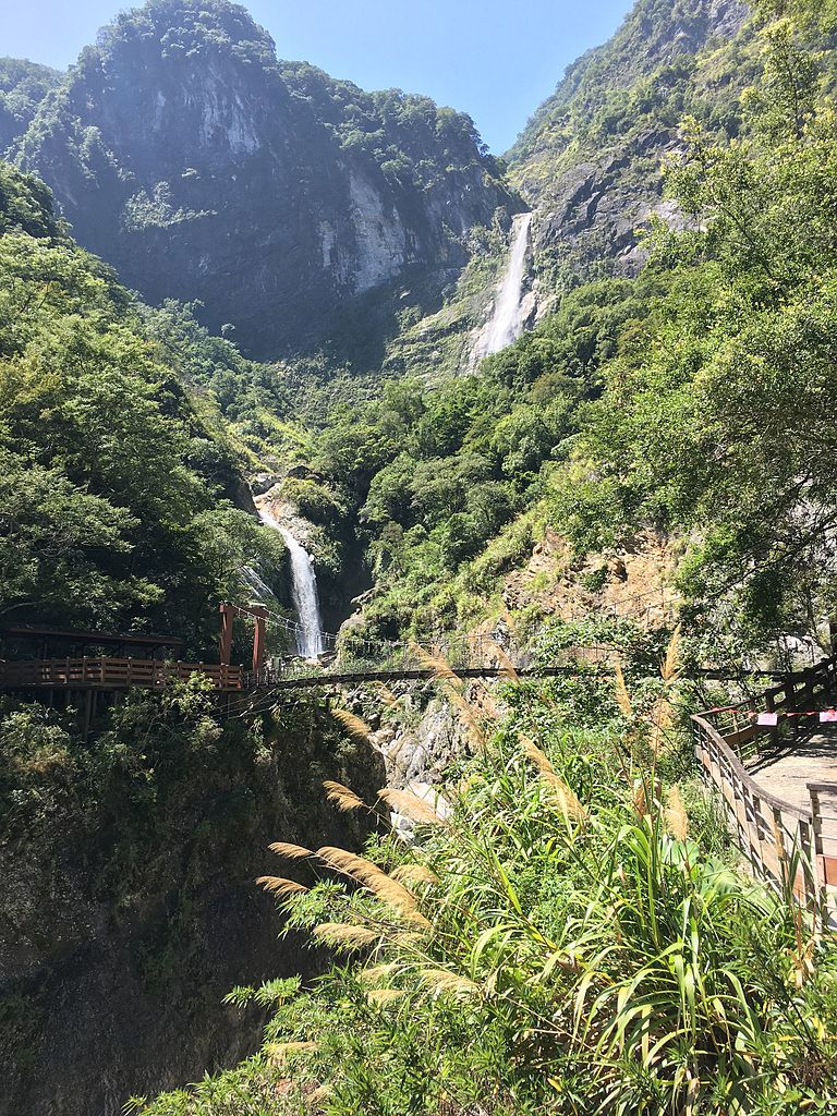 Baiyang Waterfall Trail, blog Hualien itinerary, Taiwan