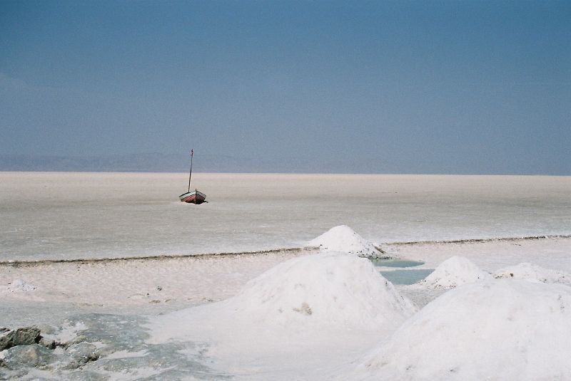 Chott el-Jerid, Tunisia