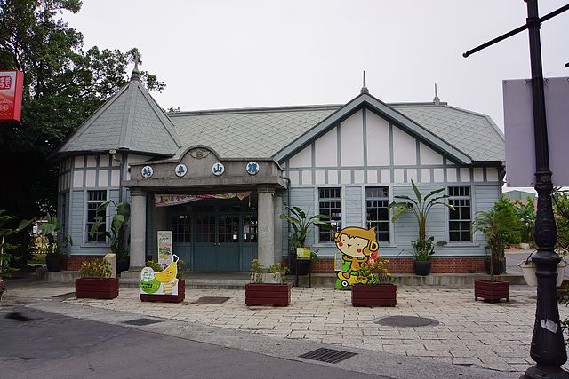 Qishan railway station, daytrips from Kaohsiung