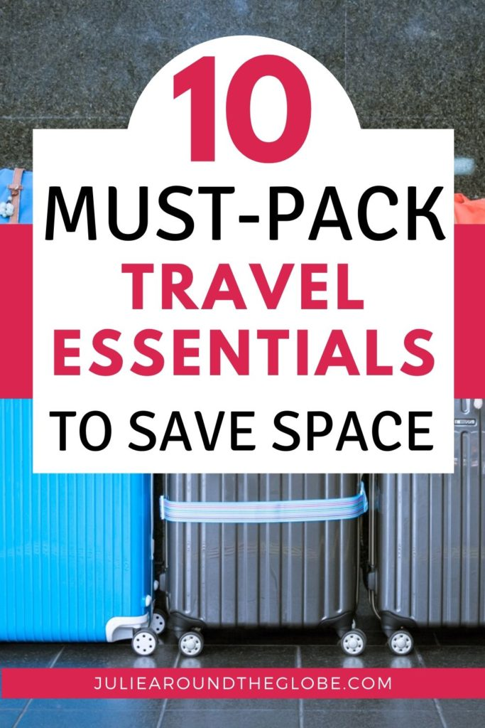 Travel essential and packing hacks