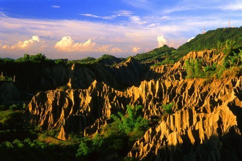 badlands, day trips from Kaohsiung