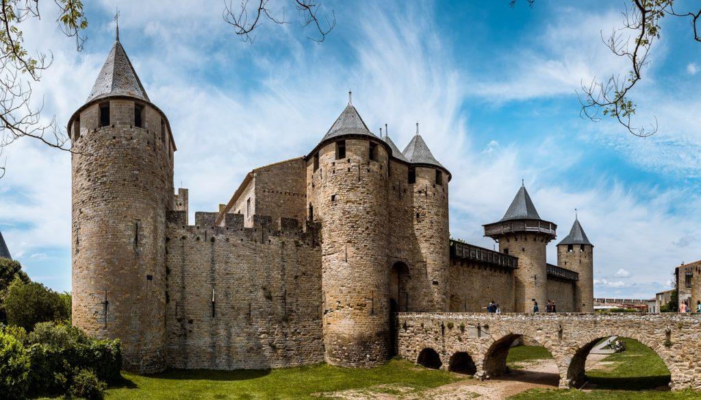carcassonne castle, France