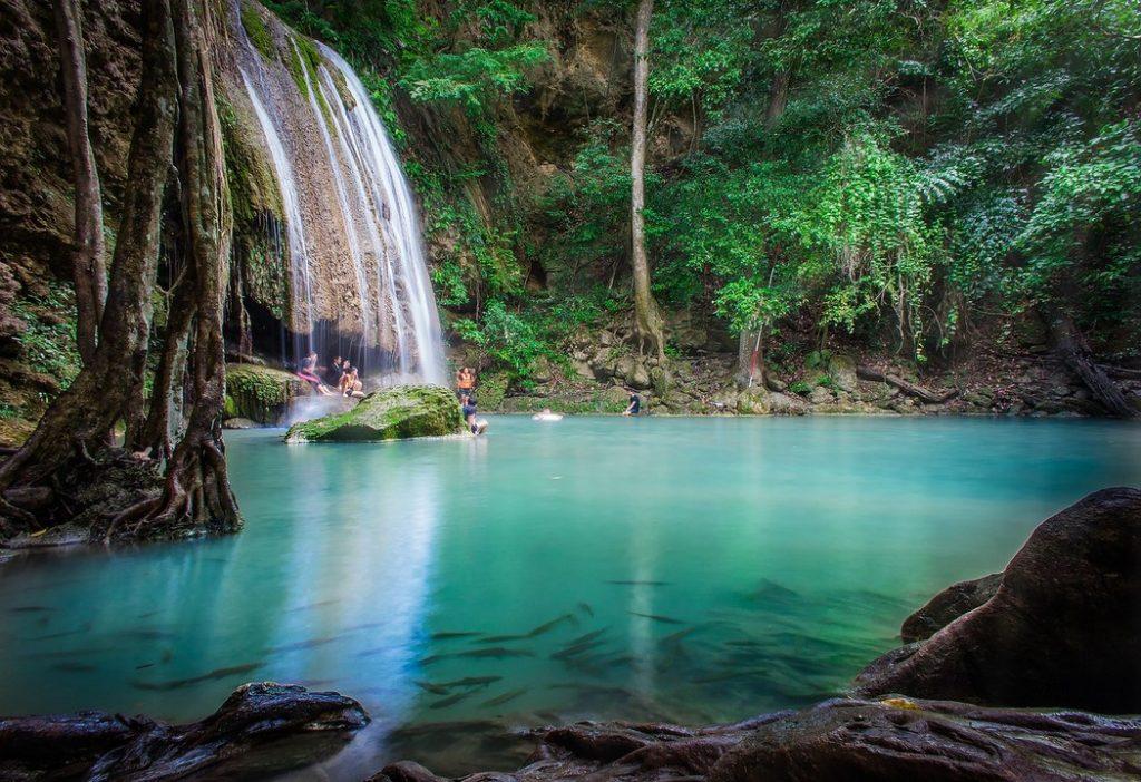 Erawan National Park, Thailand