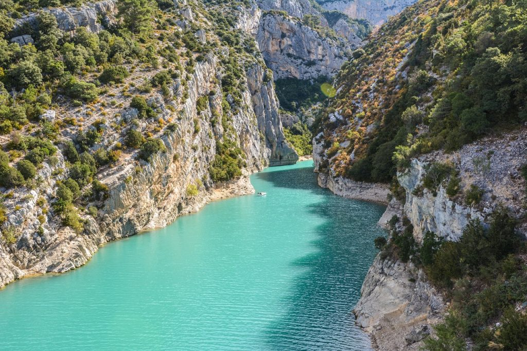 Gorge of Verdon, France