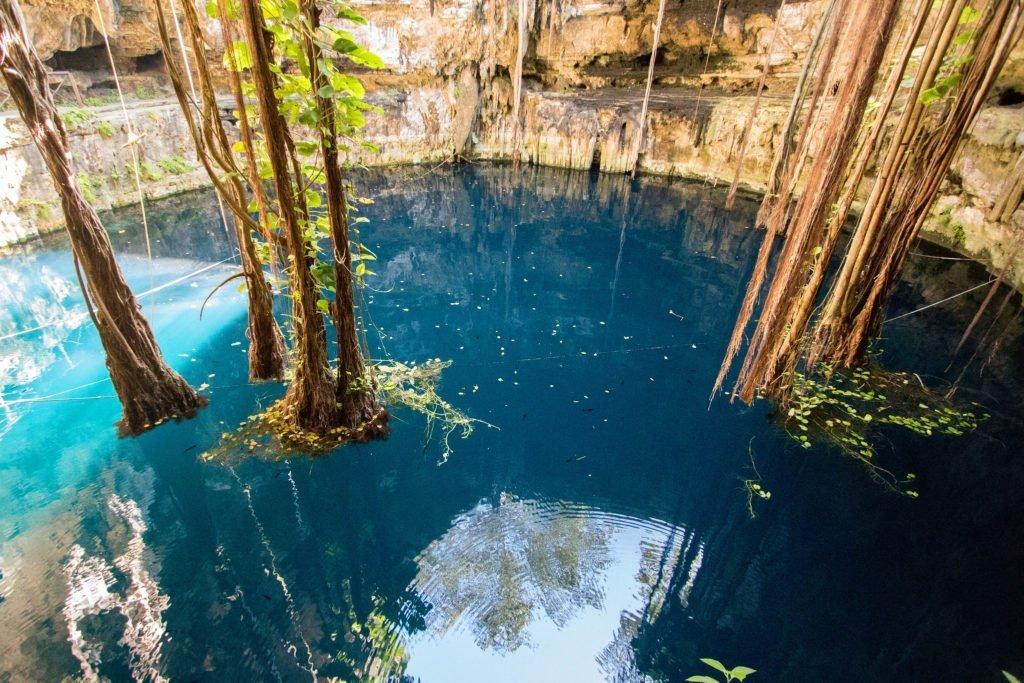 Cenote Valladolid Oxman Yucatan