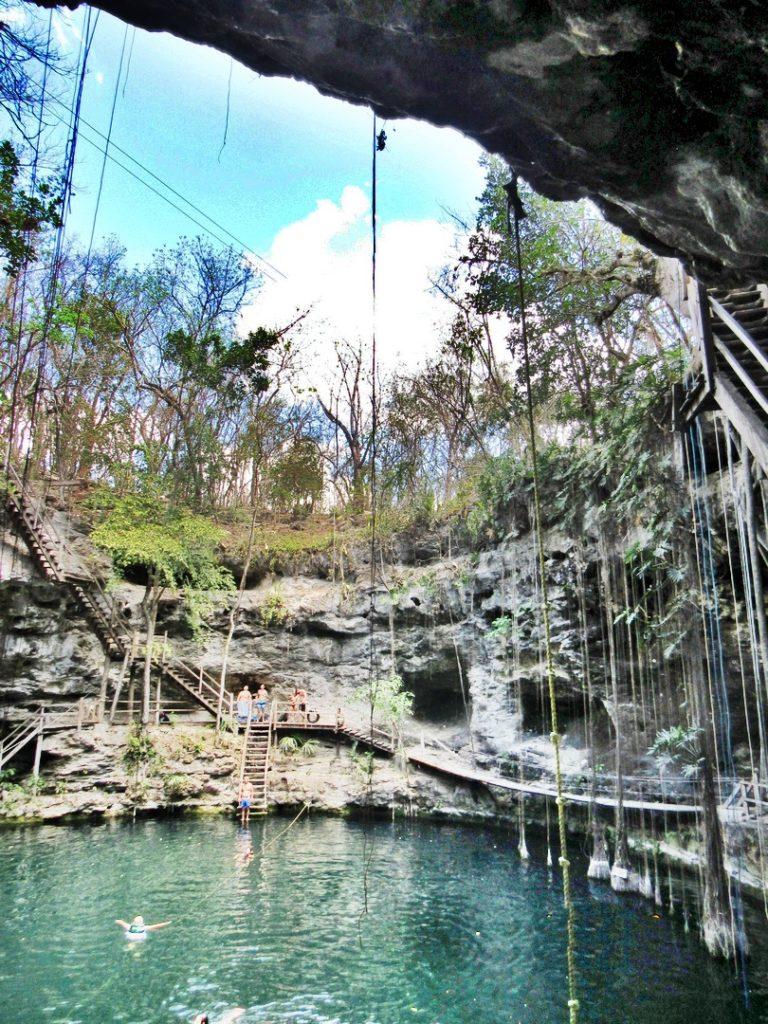 Ek Balam Cenote Xcanche, Yucatan, Mexico