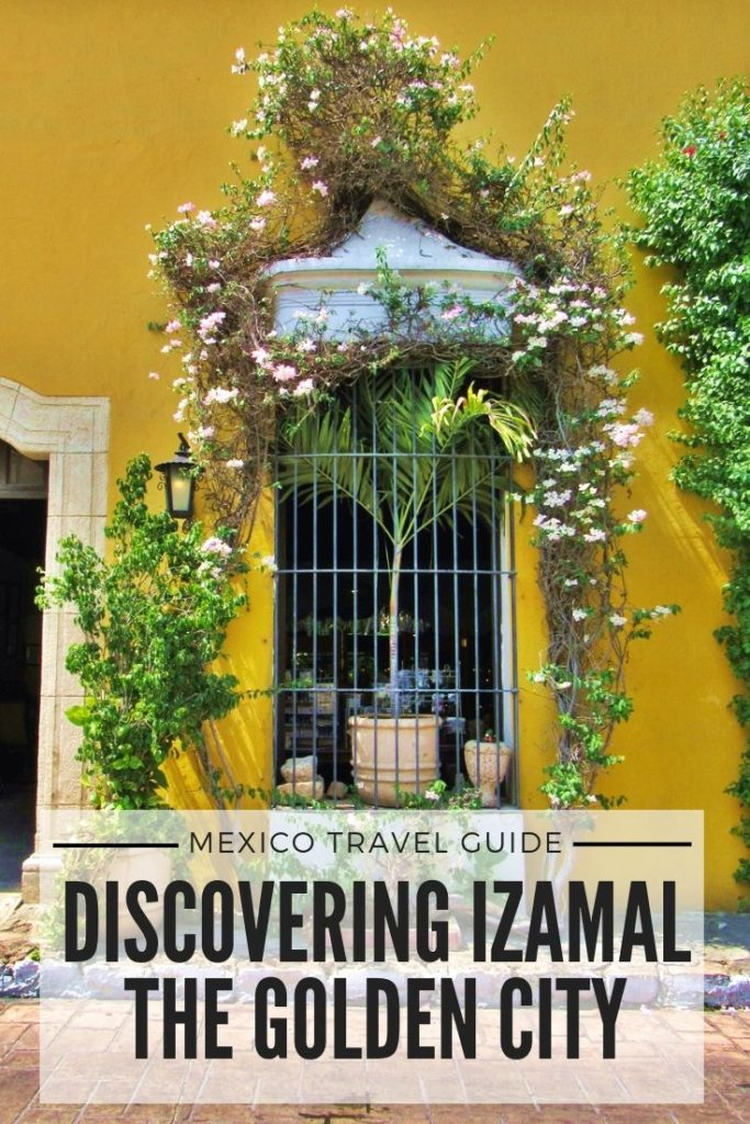 Izamal, the golden city