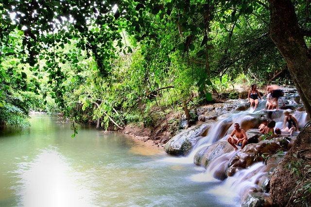 Khlong Thom Hot Springs, Thailand