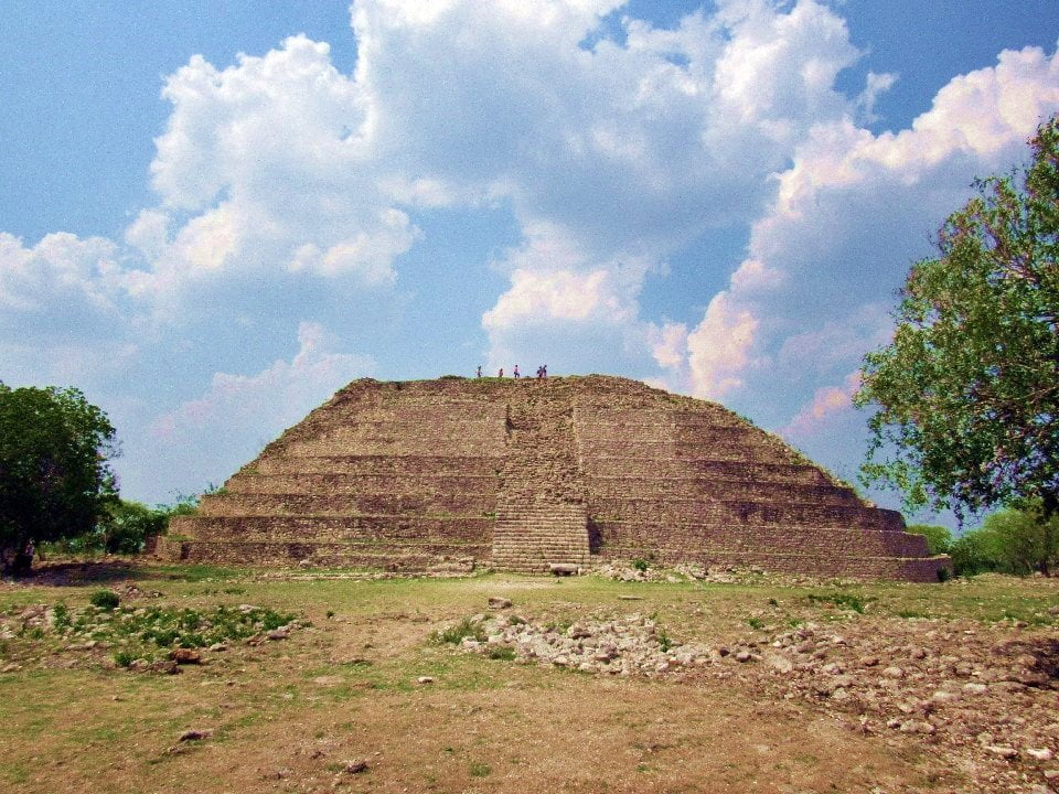 Kinich Kakmo Pyramid, Izamal, Yucatan, Mexico