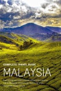 Malaysia, tea plantation