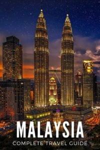 Malaysia, Kuala Lumpur at night