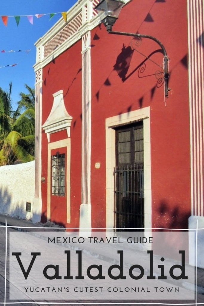Best things to do in Valladolid and around: cenotes, Mayan Ruins, historic center, colonial buildings... Take a day trip from Cancun and Playa del Carmen and discover this beautiful city. #Mexico #Travel #Yucatan #Colonial