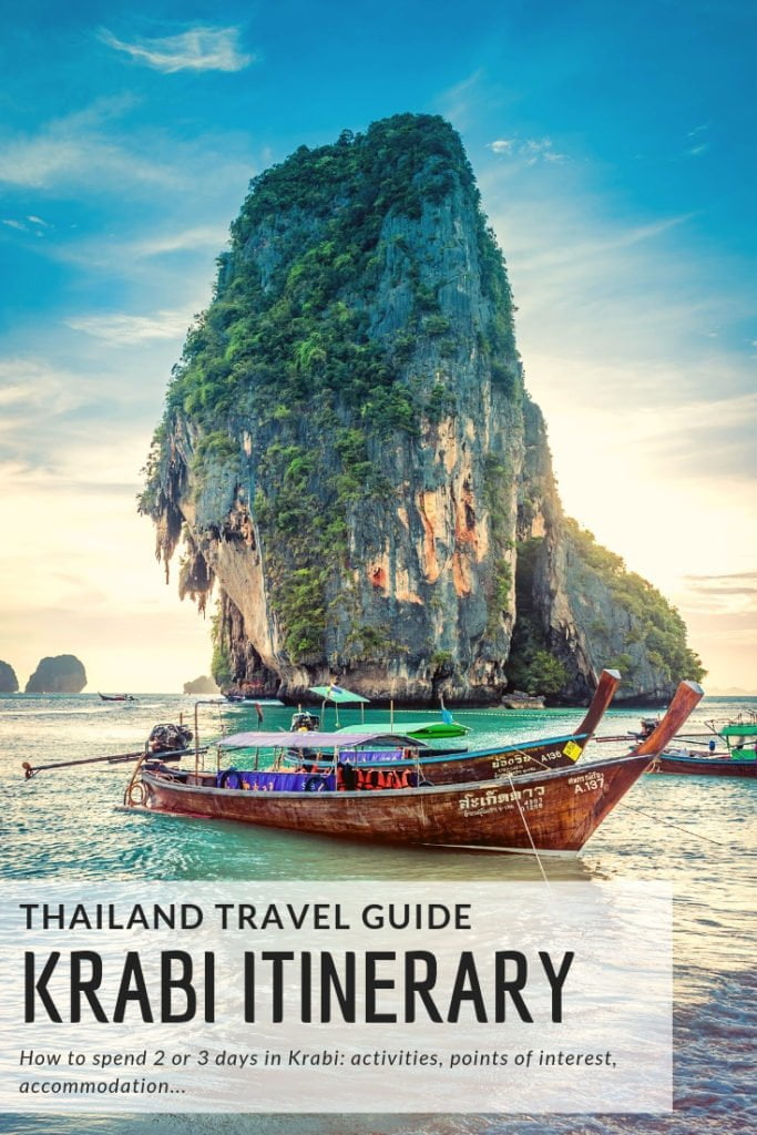 Things to do in Krabi, how to spend 2 or 3 days in Krabi #thailand #travel #guide #itinerary #travelinspiration