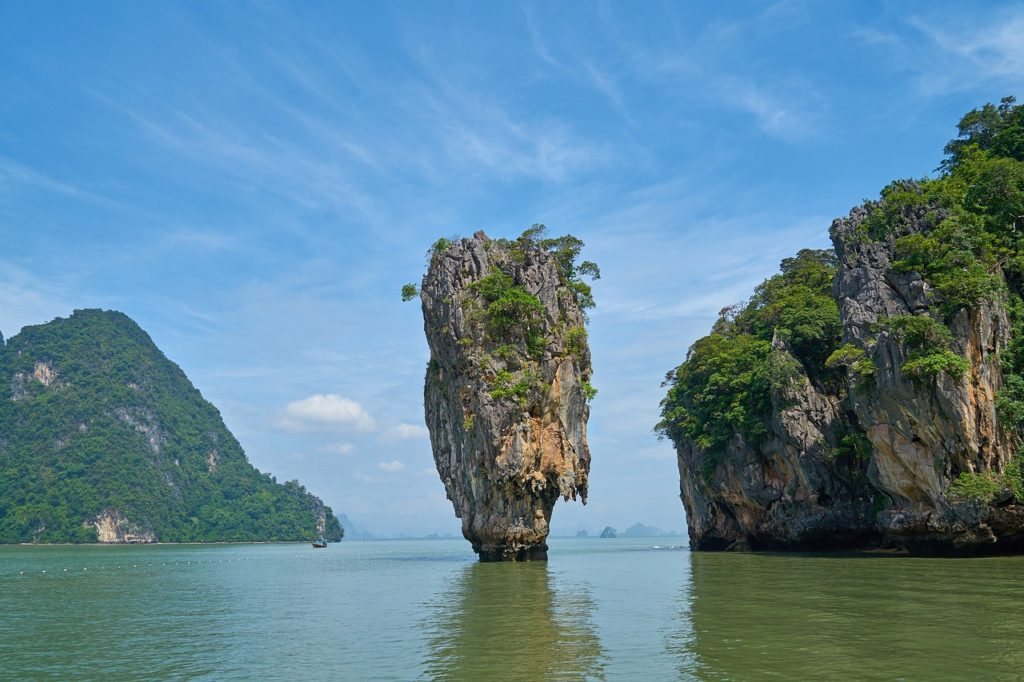 Phang Nga bay, Krabi, Thailand
