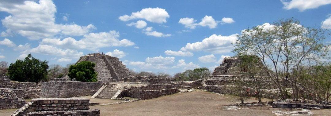 Mayapan, Maya ruins, Yucatan, Mexico