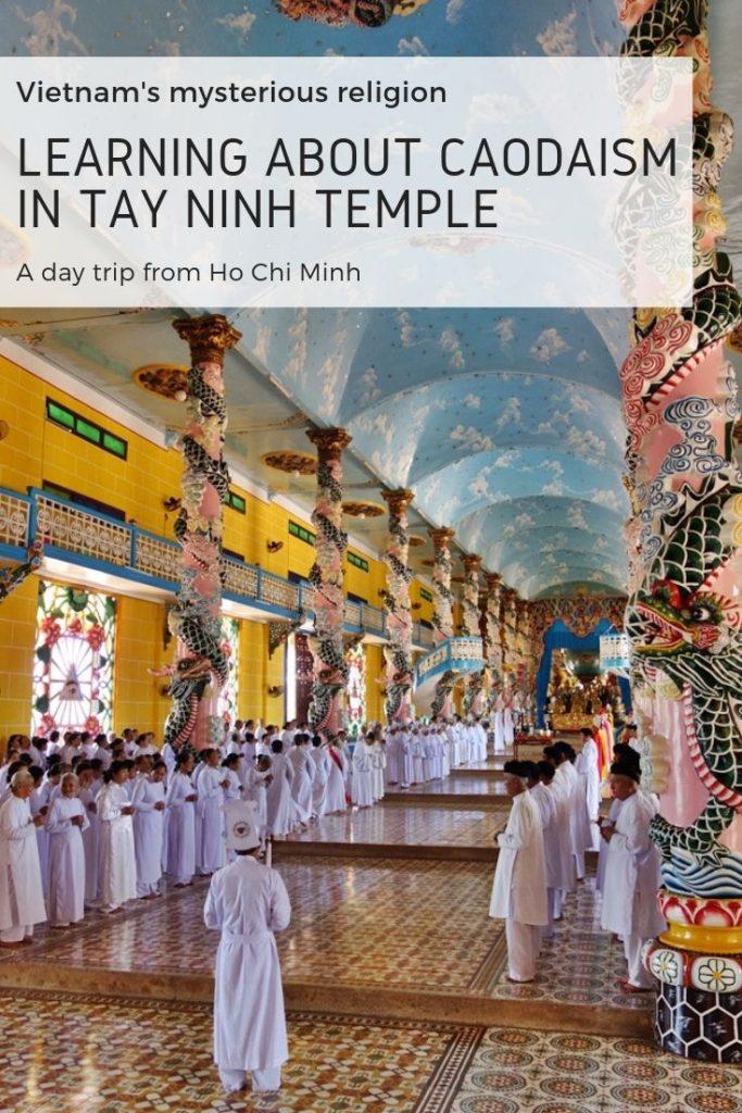Tay Ninh Temple, Vietnam