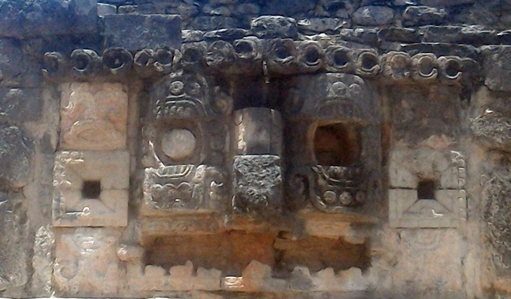 The mask gallery, Mayapan