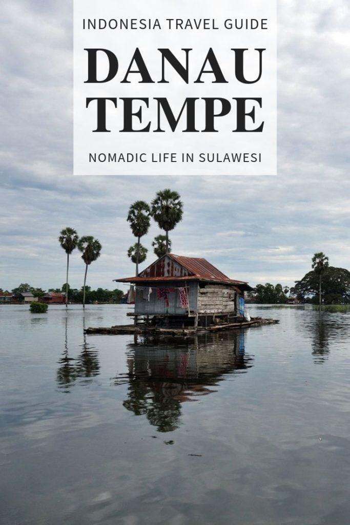 Danau Tempe, Indonesia
