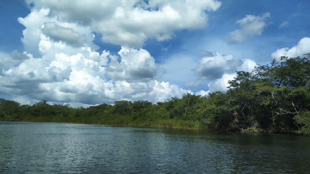Lamanai, New River, Belize