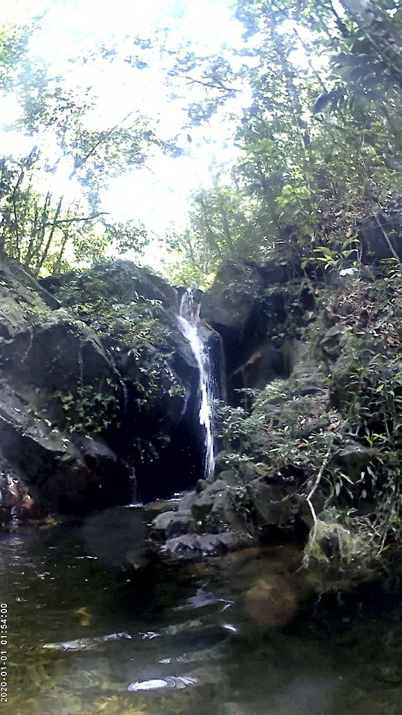 Waterfall in Cockscomb Basin Wildlife Sanctuary, Belize
