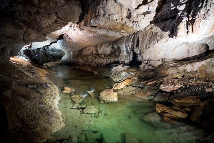 Cave in Mulu Park, Sarawak, Malaysia
