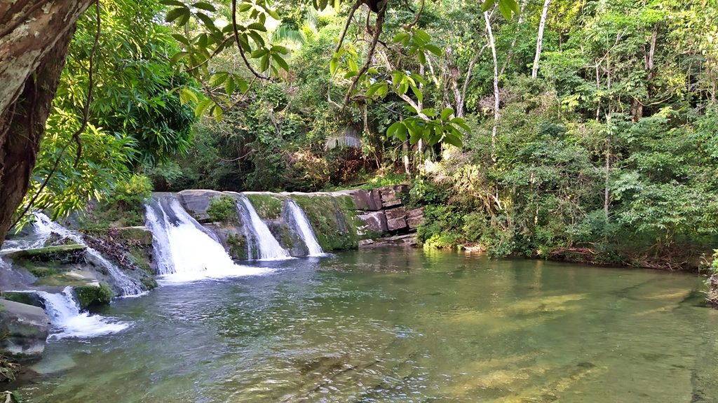 Waterfall, San Antonio, Toledo, mayan tours in Belize