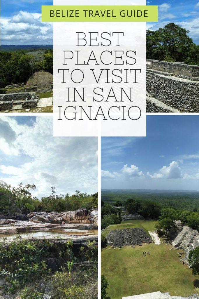 San Ignacio, Mayan ruins and nature