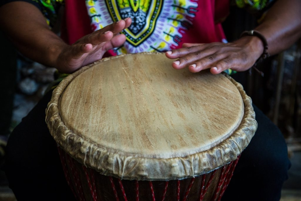 Drumming in Punta Gorda, Belize