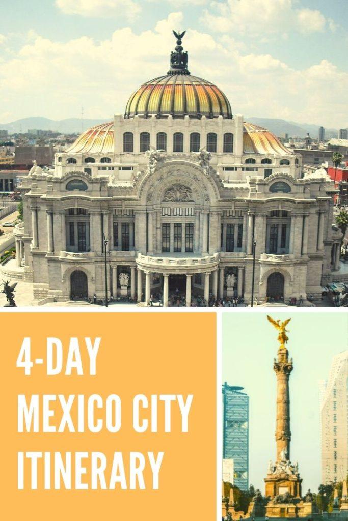 4-day mexico city itinerary
