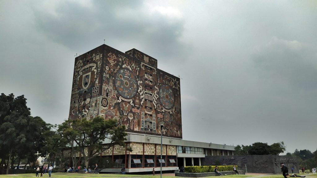 Murals, UNAM, Mexico City