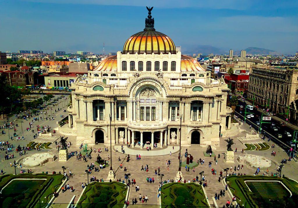 Bellas Artes, Mexico City
