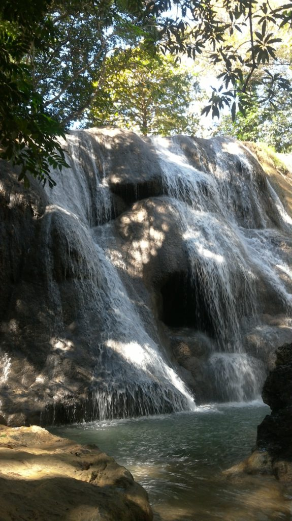 Oenesu Waterfall, kupang, Indonesia