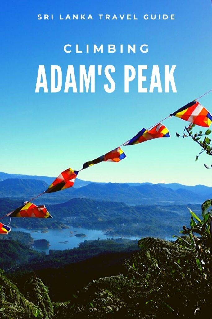 Climbing Adam's Peak in Sri Lanka