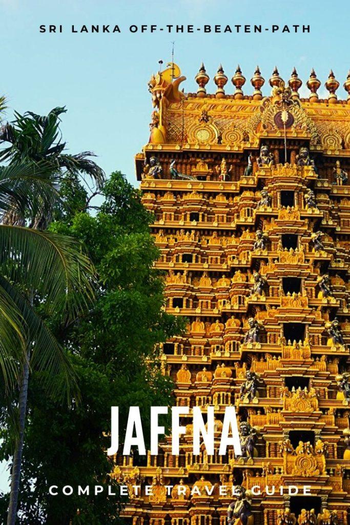 Hindu Temple in Jaffna, North Sri Lanka