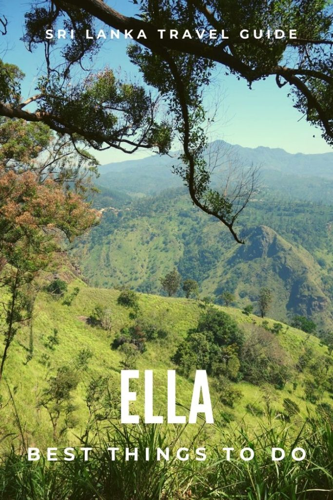 Things to do and places to visit in Ella, Sri lanka