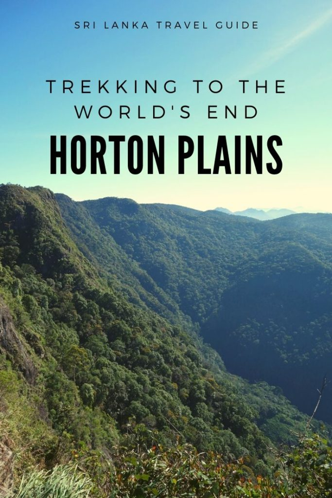 Horton Plains, trekking to the world's end