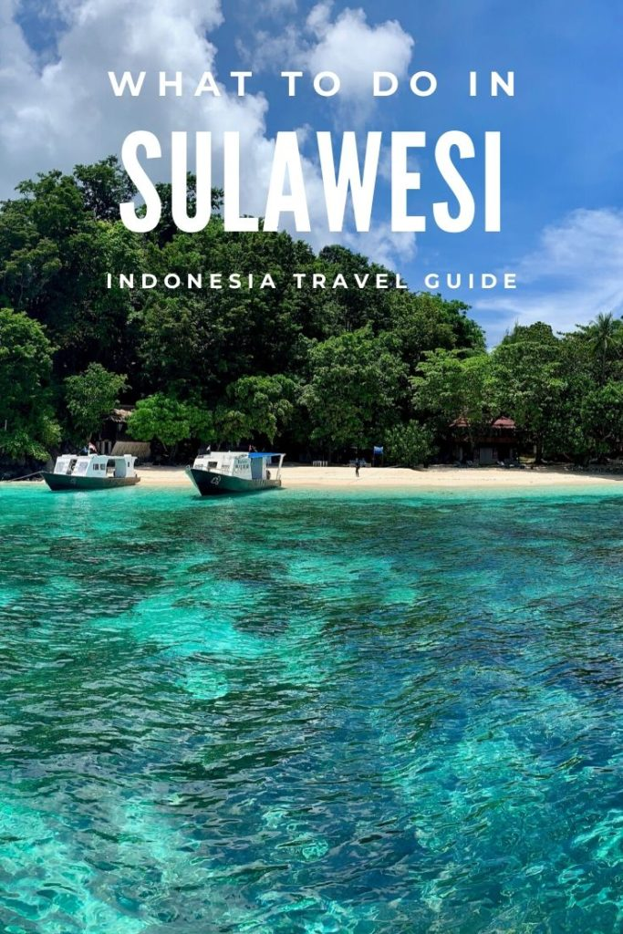 Sulawesi tourit attractions, Indonesia