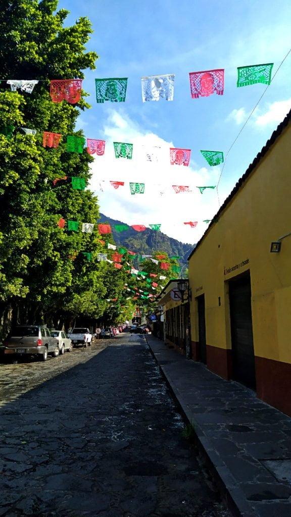 Street of Tepoztlan