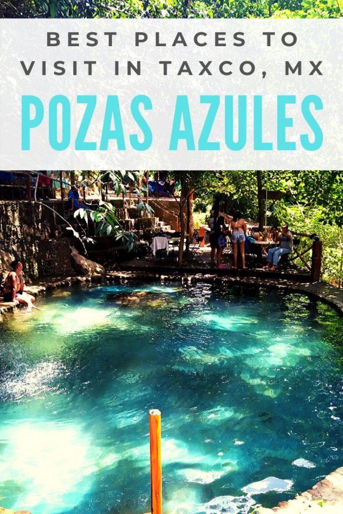 Pozas Azules, Guerrero