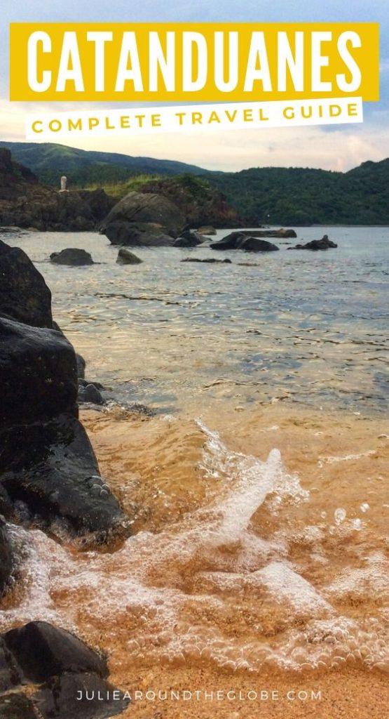 Beach in Catanduanes, Philippines