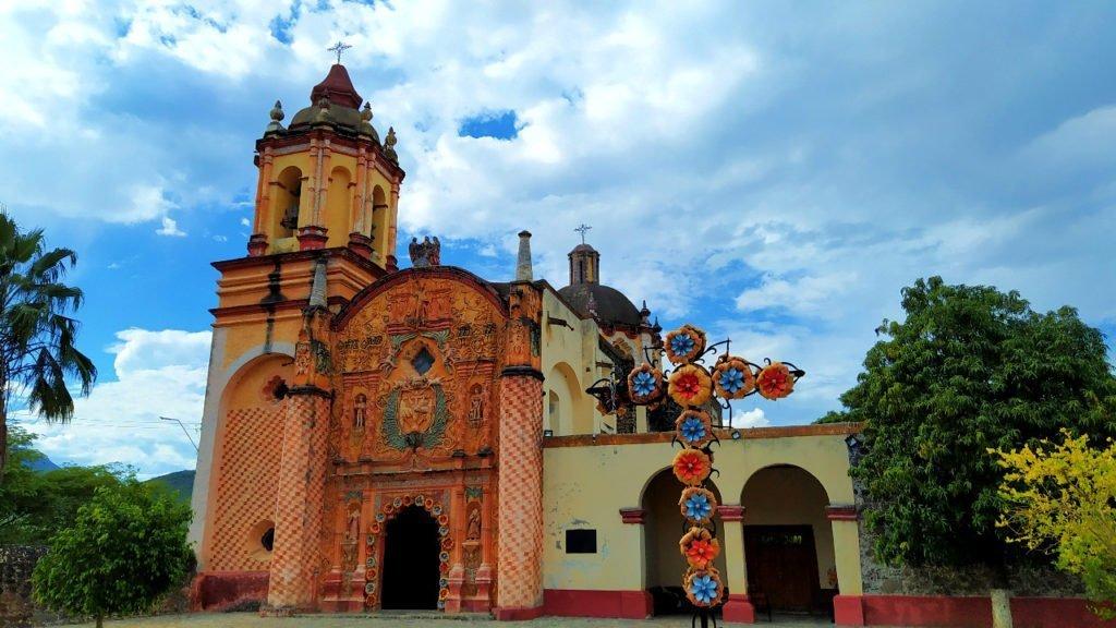 Franciscan Mission in Conca, Queretaro