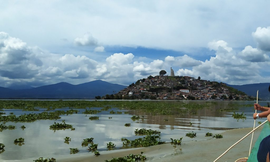 Patzcuaro Lake and Janitzio