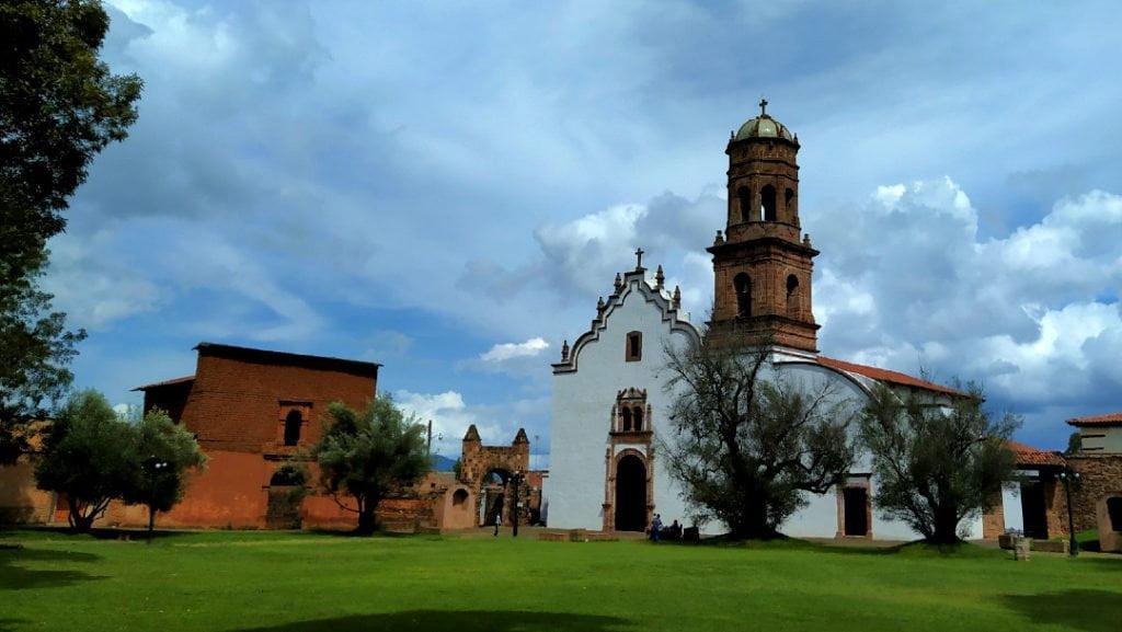 Monastery of San Fransisco, Tzintzuntzan, Mexico