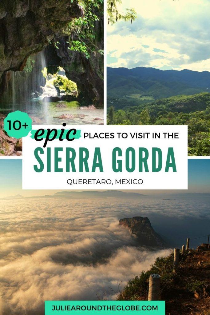 Sierra Gorda Itinirary and travel guide