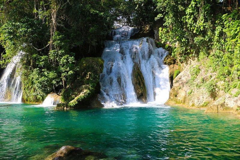 Tamasopo Waterfall, Huasteca Potosina