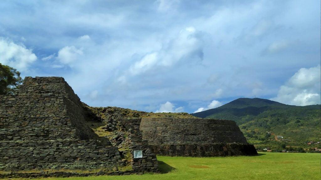Tzintzuntzan Archaeological Site, Michoacan, Mexico
