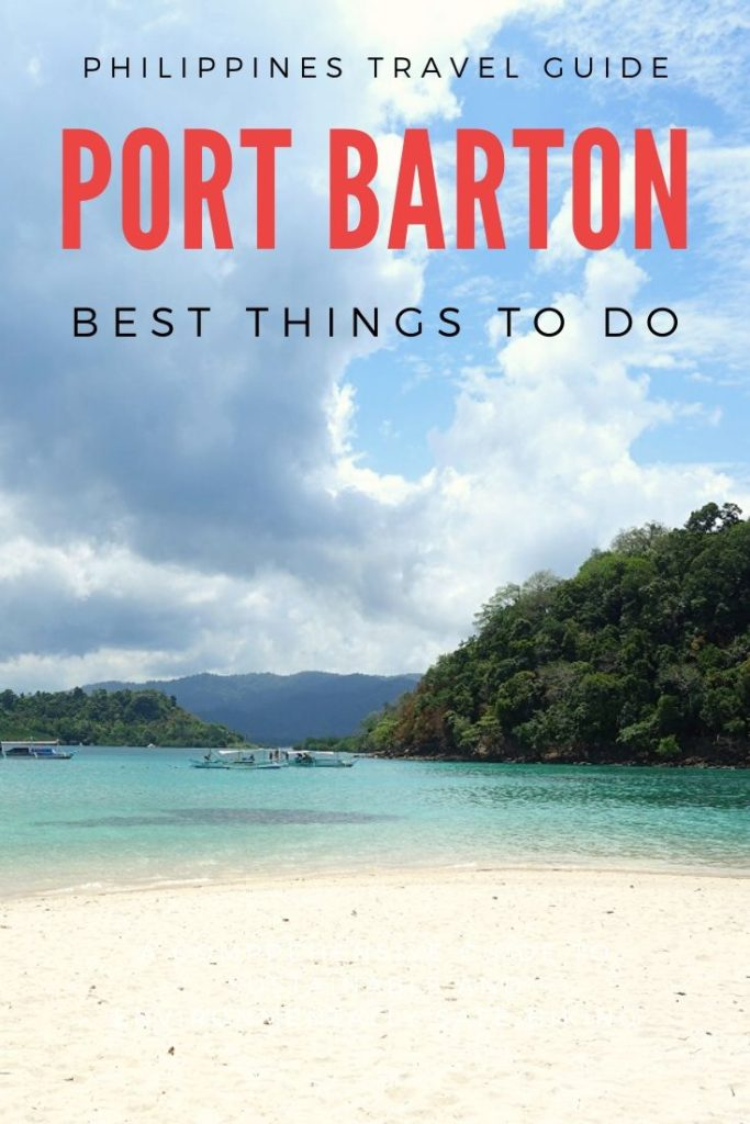 Beach in Port Barton, Palawan, Philippines