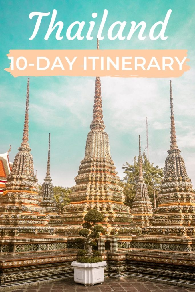 10-day itinerary in Thailand